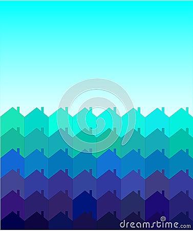 Houses tessellation