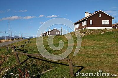 Houses in Ushuaia, Tierra del Fuego