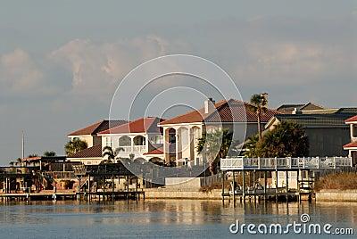 Houses waterside