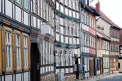 Houses in Wernigerode