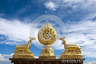 Housetop of Tibet Temple