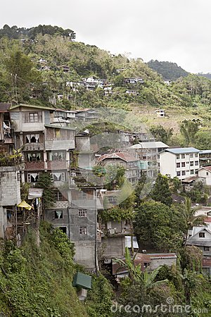 Housing in Banaue Philippines