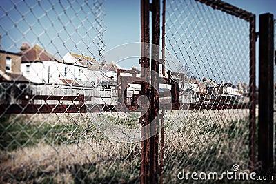 Housing England fence social