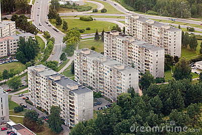 Housing estates in Vilnius