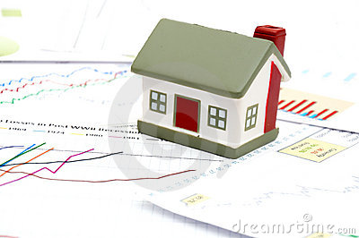 Housing market concept image