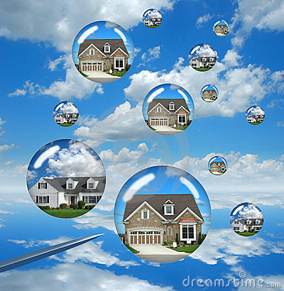 Free Housing Market Troubles Royalty Free Stock Photo - 4503915