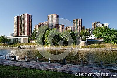 Housing residences in Beijing Editorial Stock Image