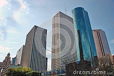 Houston Buildings, Texas