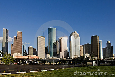 Houston, TX downtown skyline