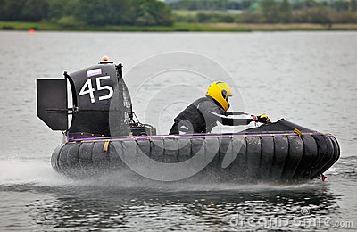Hovercraft UK national racing Editorial Stock Image