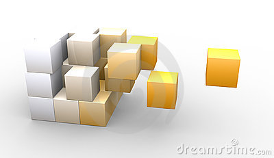 Hovering cubes