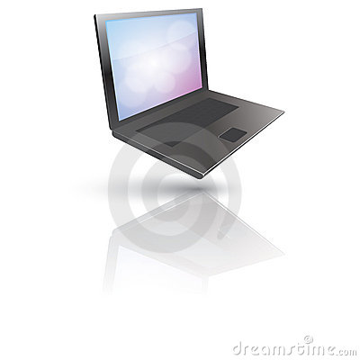 Hovering Laptop