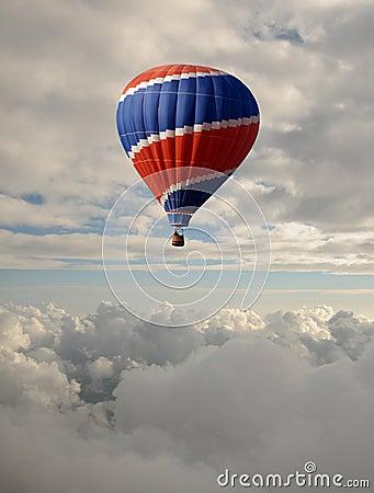 Free How Air Balloon Royalty Free Stock Photo - 12714665
