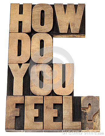 Free How Do You Feel Question Royalty Free Stock Image - 31288646