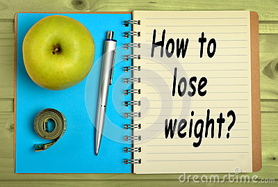 How to lose weight? Stock Photo