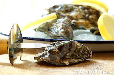 How to open one fresh oyster