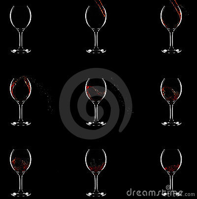 How wine gets into glass. 9 stages