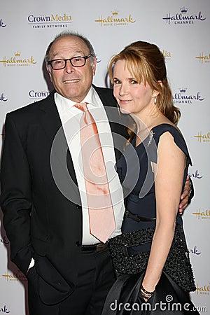 Howard Deutch, Lea Thompson Editorial Stock Photo