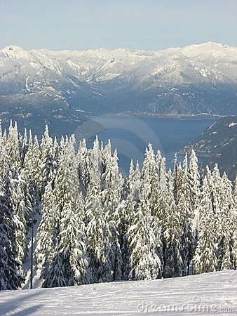 Howe Sound in winter