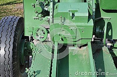 Howitzer-gun parts