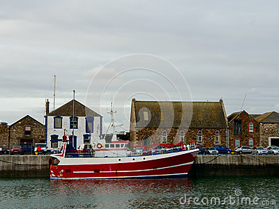Howth Harbor. Ireland Royalty Free Stock Images - Image: 27925159