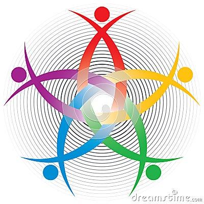 HR colorful symbol