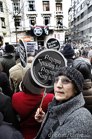 Hrant Dink Editorial Stock Image