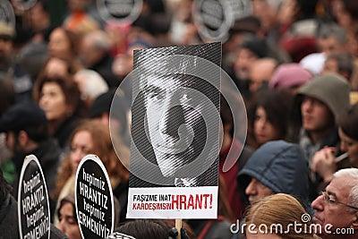 Hrant Dink Editorial Image