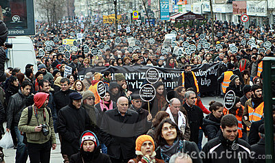 HRANT DINK MEMORIAL IN ISTANBUL. Editorial Image