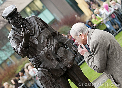 HRH The Prince of Wales first visit to Barnsley Editorial Image