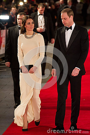 HRH Prince William and Princess Katherine Editorial Photo