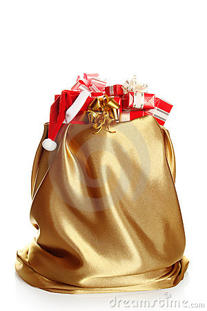 Сhristmas sack full of presents