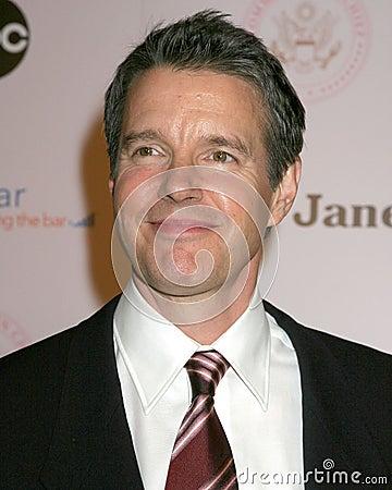 Härska Beverly Wilshire för Kyle Secor överbefälhavare Inagural boll hotell Los Angeles, CA September 21, 2005 Redaktionell Arkivbild