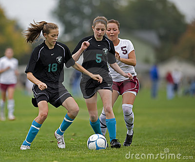 HS Soccer ball control Editorial Image