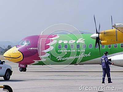 HS-TRA ATR72-200 Editorial Stock Image