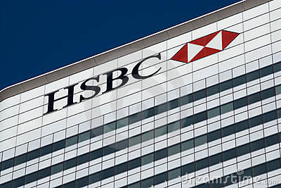 HSBC London Editorial Image