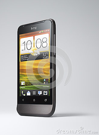 HTC Smartphone Editorial Image