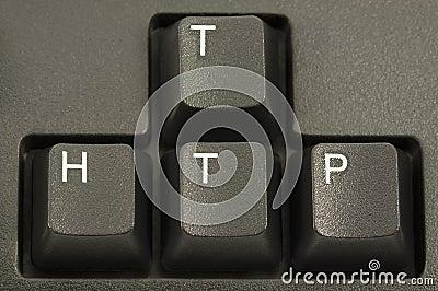 HTTP Internet Concept