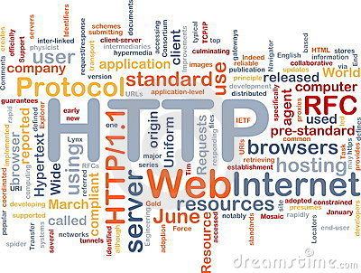 HTTP word cloud