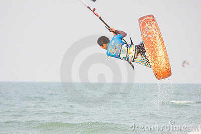 Hua Hin Kiteboard World Cup 2011 Editorial Stock Image