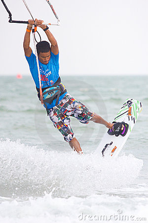Hua Hin Kiteboard World Cup 2011 Editorial Image