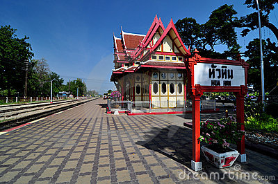 Hua-Hin train station