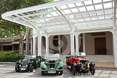 Hua Hin Vintage Car Parade 2011 Editorial Stock Photo