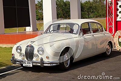 Hua Hin Vintage Cars Parade Festival 2011 Editorial Stock Image