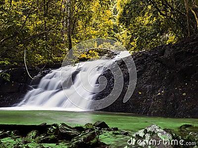 Huai Sa Khe Waterfall.