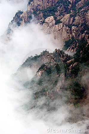 The Huangshan Mountain