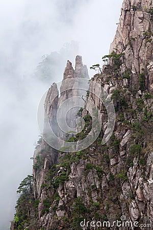 Free Huangshan Mountain (Yellow Mountain), China. Stock Photos - 46443733