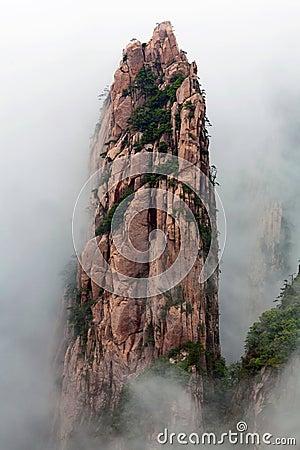 Free Huangshan Mountain (Yellow Mountain), China Royalty Free Stock Image - 55982606