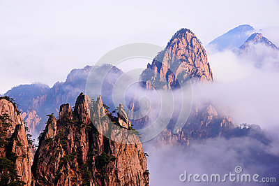 Huangshan(yellow) Mountain