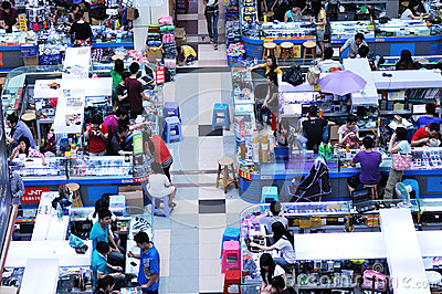 Huaqiangbei electronics market Editorial Photo